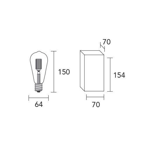 Lamparitas filamento de led, bombillas, iluminación led, LED,