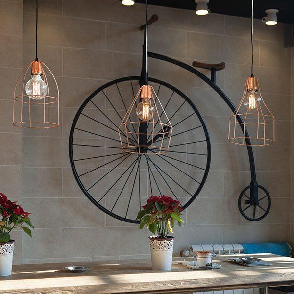 Super Promo jaula vintage lamparas bazar de luces