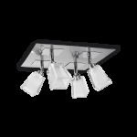 aplique de techo cuatro luces