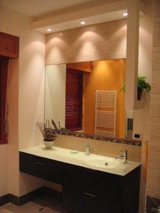 iluminación espejos del baño