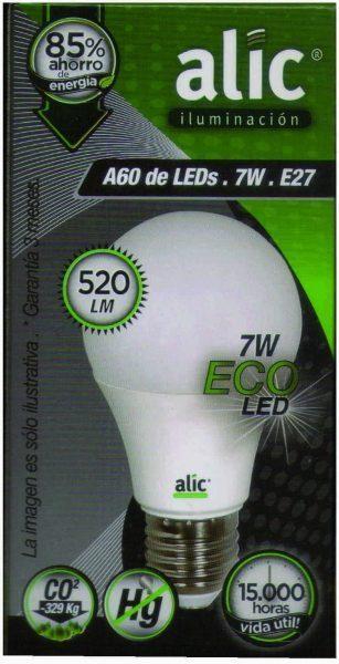 Lampara Led, Alic, Apto led, Iluminación, Bombillas,