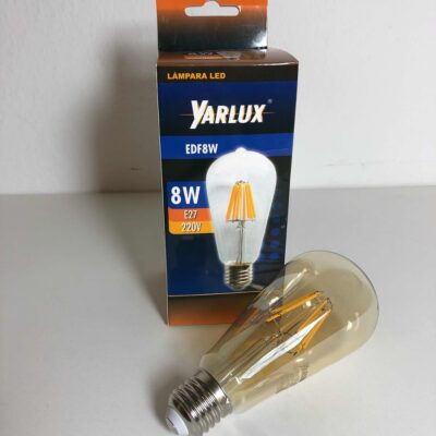 LAMPARA FILAMENTO LED, VINTAGE, DIMERIZABLE
