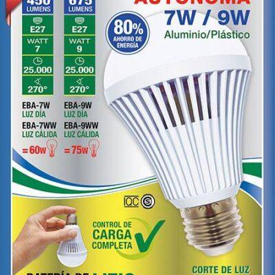 iluminacion, led, luz de emergencia, tbcin, lampara autonoma, bombilla, foco, led,