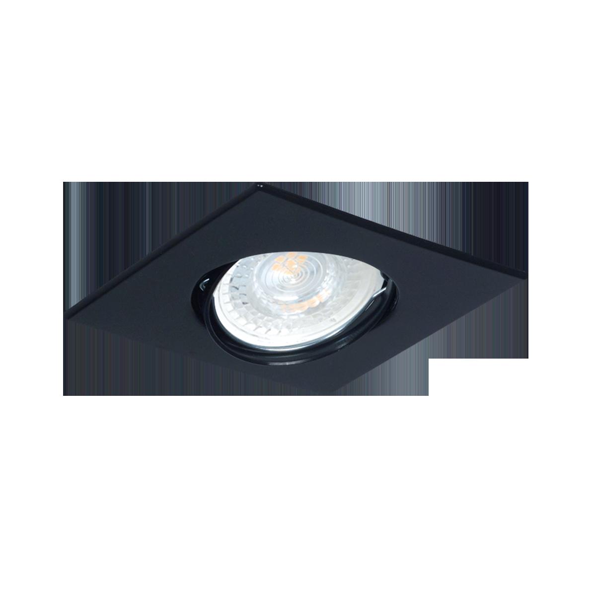 Iluminacion Led, Spot de Embutir Cuadrado de policarbonato inyectado