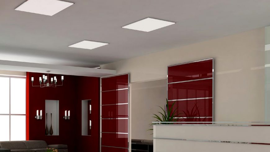 Iluminación para oficinas: Paneles led