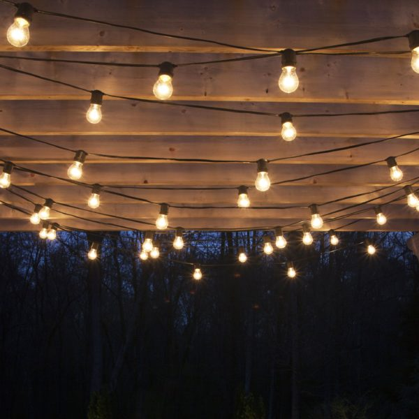 guirnalda de luces tipo kermese
