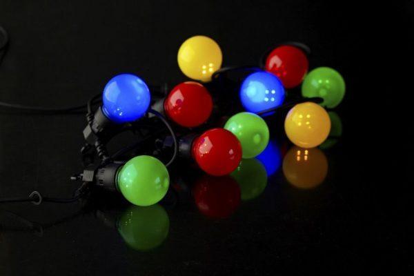 guirnalda kermessede colores