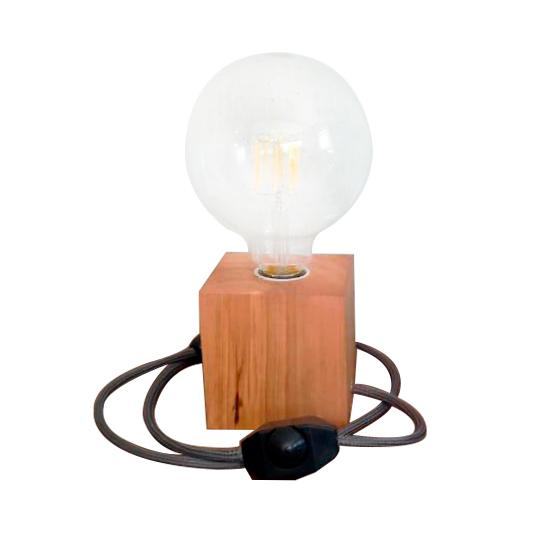 Linea Nordica, 1 luz en madera. Dimerizable apto led