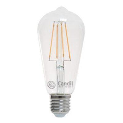 LAMPARA LED PERA CANDIL 5W CLARA