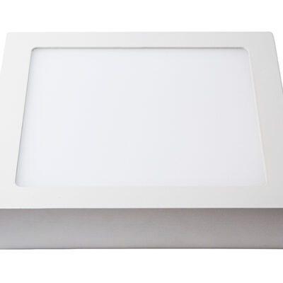 plafon led 18w blanco dowlight square