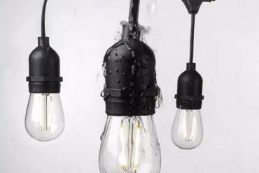 Seguridad en la iluminación exterior: Guirnaldas