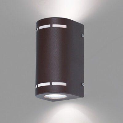 aplique bidreccional oporto 2 luces