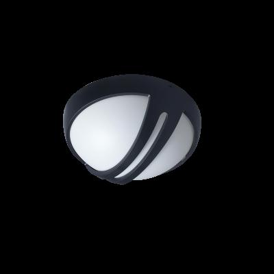 TORTUGA LED REDONDA CARCASA NEGRA 15W 4000K Ø260 NEGRO