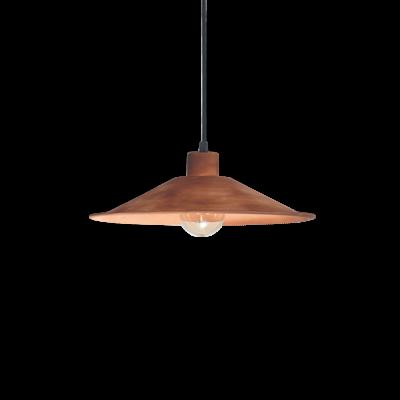 Colg. chapa eco 1 luz E27 Ø33 cm