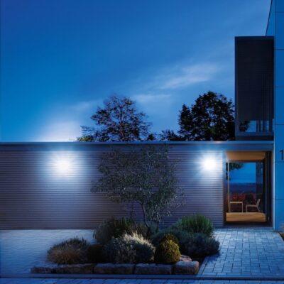 iluminacion exterior por reflector
