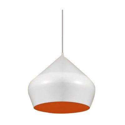 Lámpara Colgante Minimal Mitra blanco