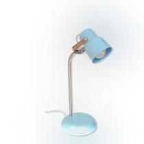 Velador-lampara De Escritorio Económico Celeste Lr8800