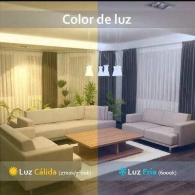 color de la luz