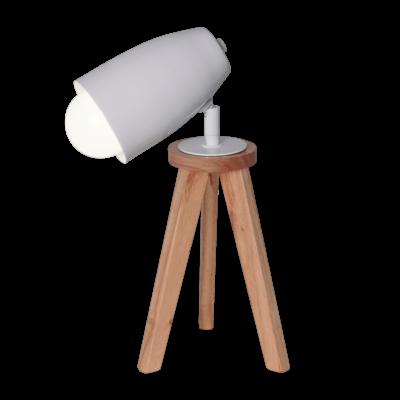 Velador Tripode Con Cabezal Spot Ideal Para Lectura Apto Led