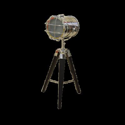 L9 (1) LAMPARA DE MESA MODERN PLATEADA