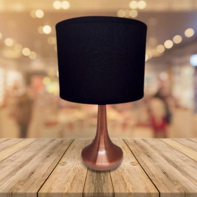 Lampara de mesa Vespa negro y cobre