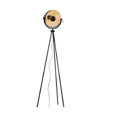 Lámparas de pie Descripción: Lámpara de pie trípode con movimiento.