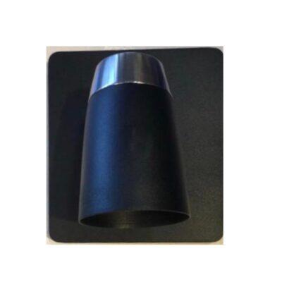 spot 1 luz tempuk negro y cromo